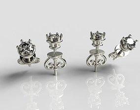 fantasy Earrings 3D print model
