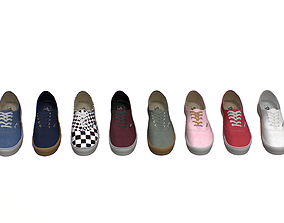 Vans Classics Ten Colors 3D model