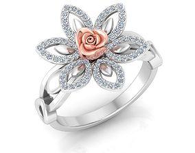 Rose RING1 3D printable model
