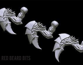 3D print model Xenoteras Burrowing Talons