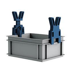 3D printable model Add-on Rako Boxes - Gun holder
