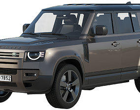 Land Rover Defender 110 2020 land 3D model