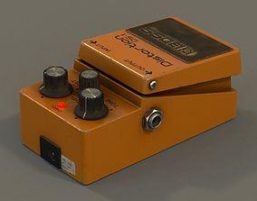 3D model Boss guitar effects pedal