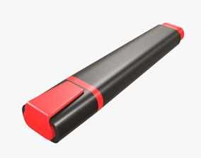 3D medium-material Highlighter pen