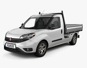 Fiat Doblo Work Up 2015 3D