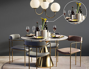 3D Dinning Set 05