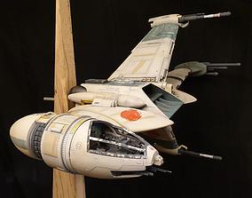 Starwars B-Wing 3D printable model