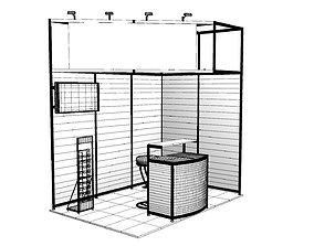 exhibition stand design 3D shop