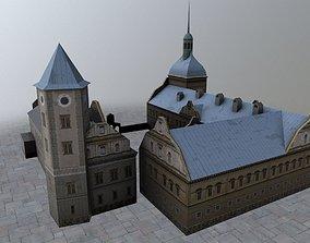 Karlovy Vary Zamek Struzna 3D asset