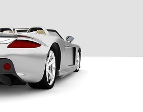 Porsche Carrera gt car-era 3D