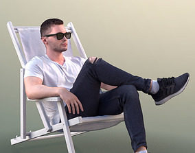 3D model Rick 10498 - Chilling Casual Guy
