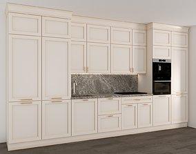 3D model kitchen-set012 kitchenware