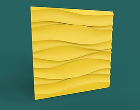 decorative 3d panel wave interior