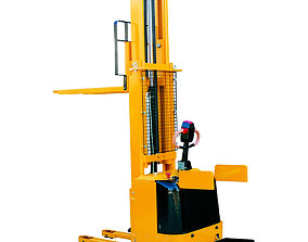 Electric Hydraulic Platform Pallet Forklift 3D