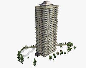 De Ville Apartments 3D asset
