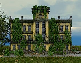 Old abandoned Post Apocalyse Building 3D model