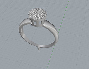 ring crystals 3D printable model