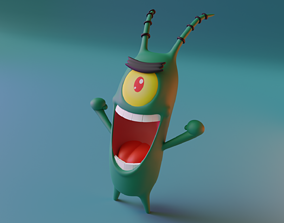 3D model Plankton - Spongebob
