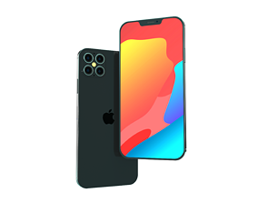 iPhone 12 Pro Element 3D and C4D