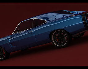 3D Dodge Charger RT 1968
