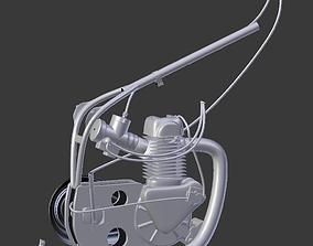 Speedway bike engine 3D