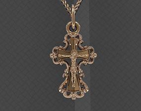 tomb Pendant Cross 3D printable model