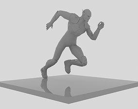 3D print model Flash Run Figure