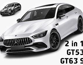 3D Mercedes-AMG GT 4-door GT53 and GT63 S
