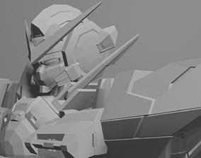 Exia Gundam 3D Model