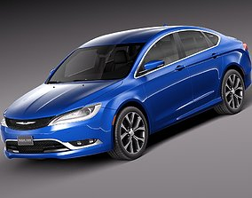2014 Chrysler 200 2015 3D model