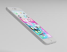 iPhone 8 Plus smartphone 3D model