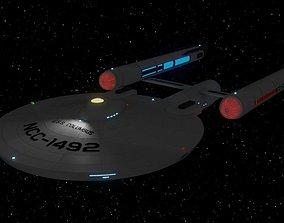 Columbus-Class Interstellar Explorer 3D model