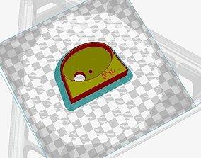 3D printable model Webasto controller mount podium