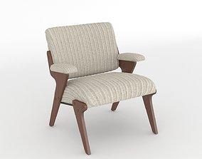 silla ZC1 Zanine Caldas Armchair Poltrona 3D