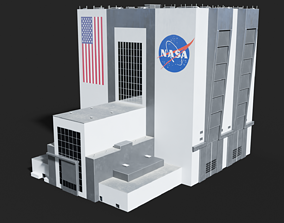 NASA Vehicle Assembly Building 3D model game-ready