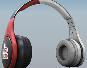 Wireless Headset Collection 3D