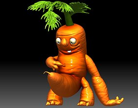Carrot Funny Monster 3D printable idea for 3d printing
