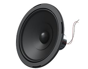 Speaker Bass 3D model