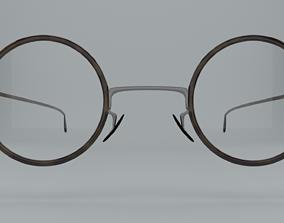 3D asset vintage eyeglasses