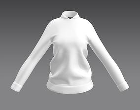 Jacket Sweatsuit Tracksuit Jogging suit women 3D model
