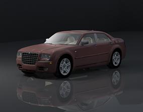 game-ready CHRYSLER 3D CAR MODEL