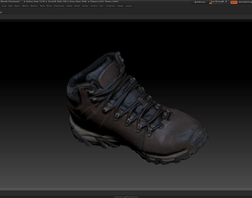 game-ready Boot 3D model