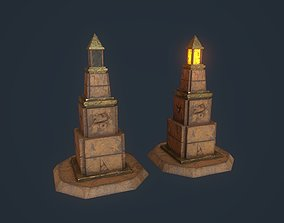 Obelisk 5 3D model