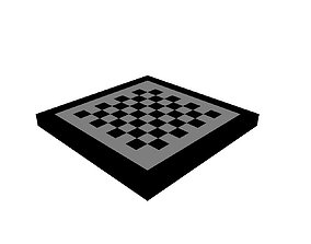 3D asset Voxel Checkers