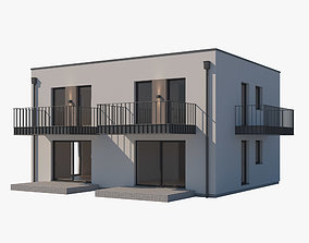 residential-building 3D House 007