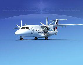 Dornier Do-328-130 Air France 3D model