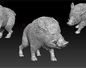 Boar-sculpt 3D printable model