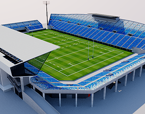 3D model Kumagaya Rugby Ground - Japan