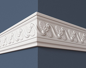3D model Frieze carved