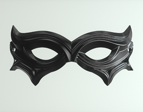 masquerade 3D printable model Carnival Mask 02